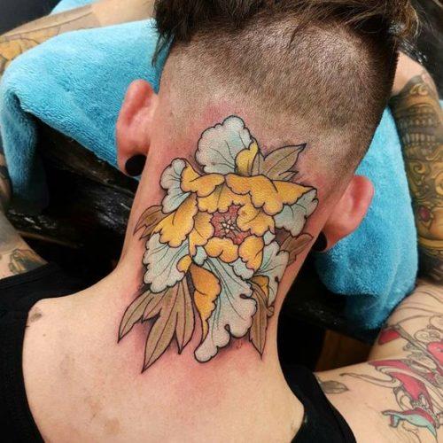 220 Tatuajes En El Cuello Fotos Y Diseños Increibles