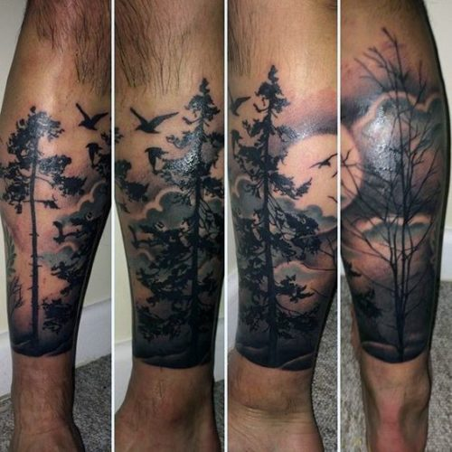 Tatuajes En La Pierna Para Hombres Con Los Mejores Diseños