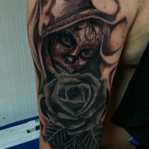 Tatuajes De Catrinas Diseños Imágenes Y Signinicado
