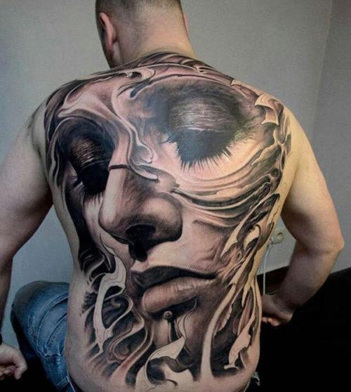 Tatuajes En La Espalda 227 Mejores Diseños Para Hombres