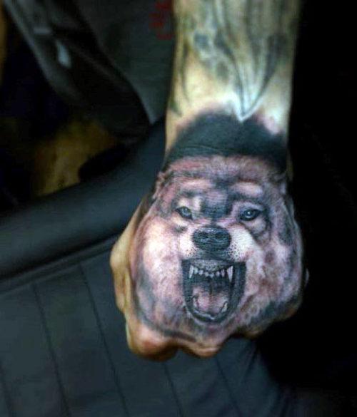 Tatuajes De Lobos Imágenes Diseños Y Significados