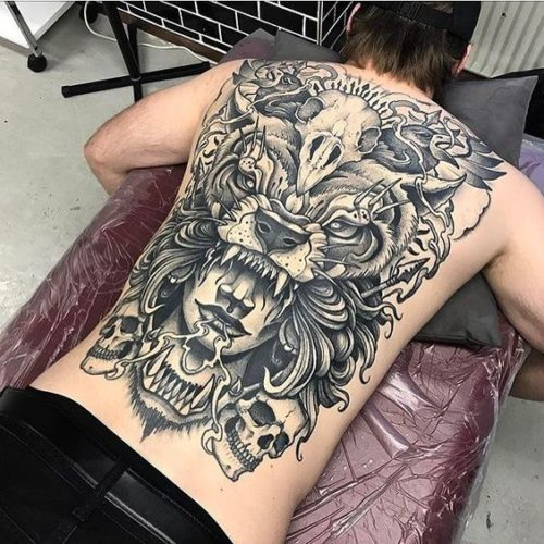 Los Mejores Tatuajes Del Mundo 2019 2020 Increibles