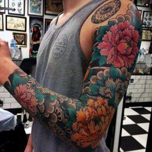 De 200 Fotos De Tatuajes En El Brazo Para Hombres