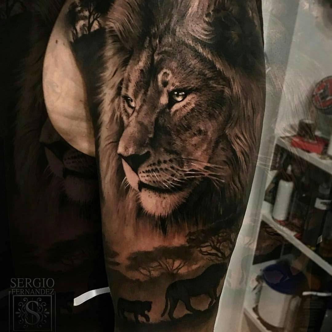 Tatuajes De Leones Estilos Y Diseños