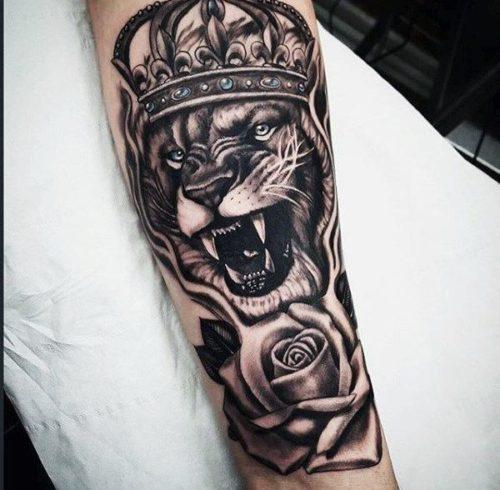Tatuajes Leones Brazo