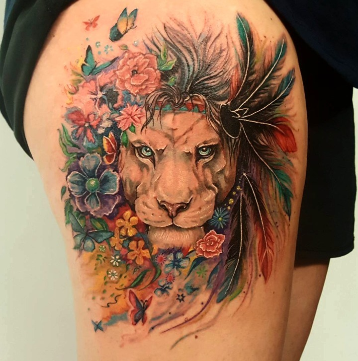 Tatuajes Creativos De Animales Para Hombres
