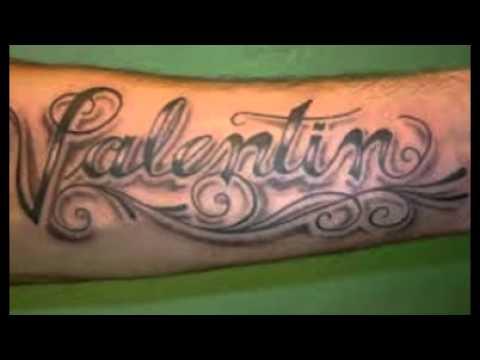 120 Tatuajes De Nombres De Hijos