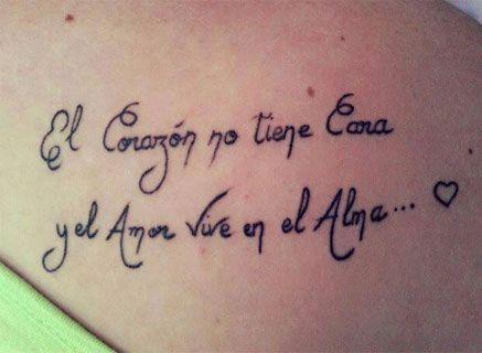Tatuajes Con Frases Cortas Para Mujeres