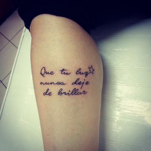 20 Tattoos Con Mensajes En Espanol Ideas And Designs