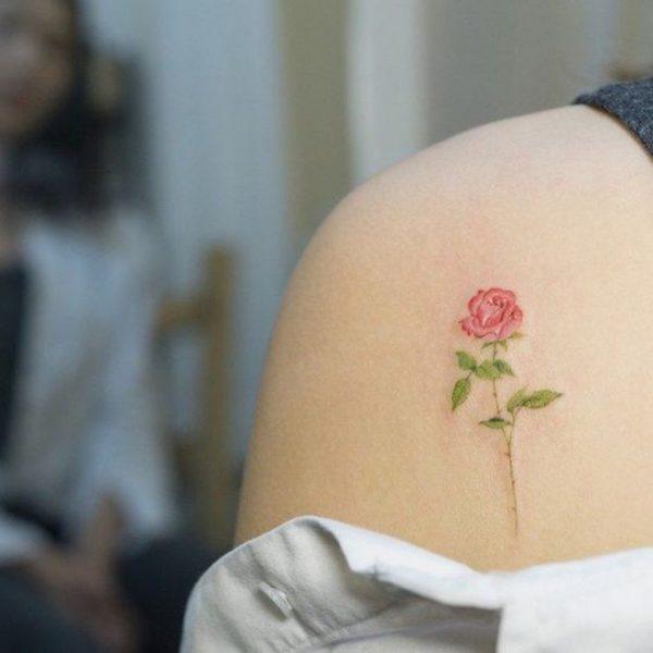99 Tatuajes De Rosas Diseños Para Mujer