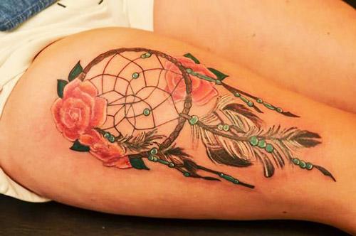 98 Tatuajes De Atrapasueños Hermosos Y Femeninos