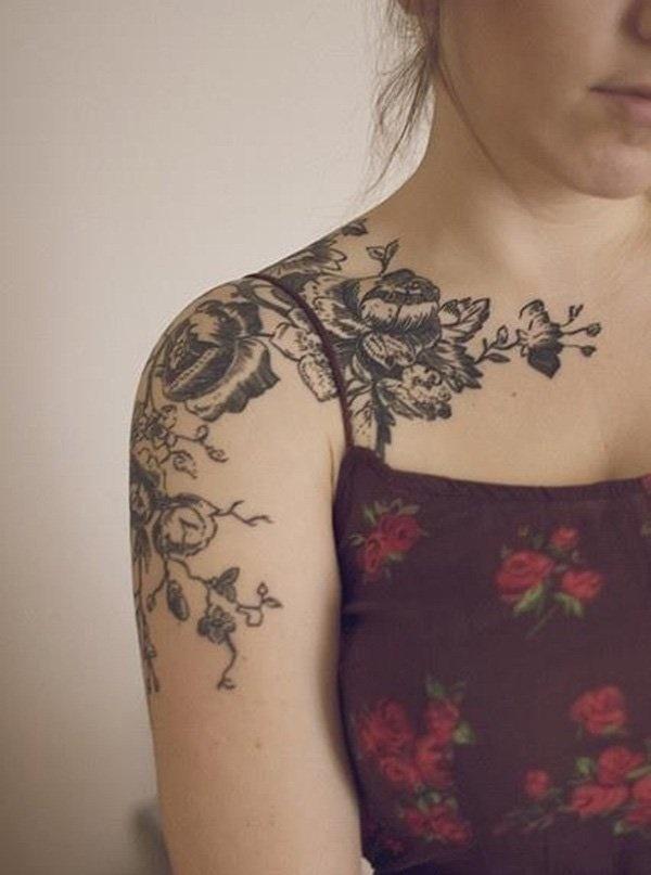 Tatuajes En El Hombro Pequeños Y Delicados Para Mujeres