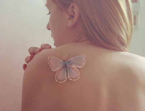 Tatuaje Hombro Mariposa Tatuajes Para Mujeres