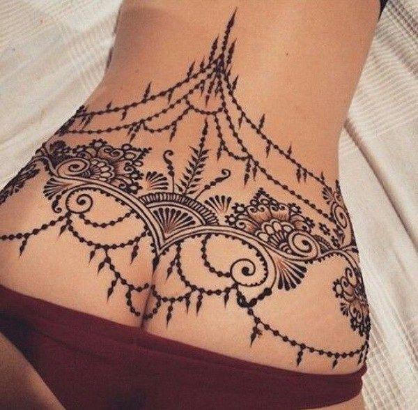 Tatuajes Para Mujeres En La Espalda Baja 1 Tatuajes Para Mujeres