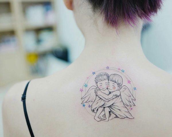 Tatuajes De ángeles Para Mujer Diseños Increibles