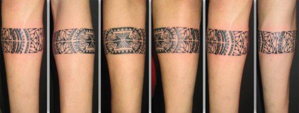 Tatuajes Aztecas Y Mayas Con Brazaletes Increibles