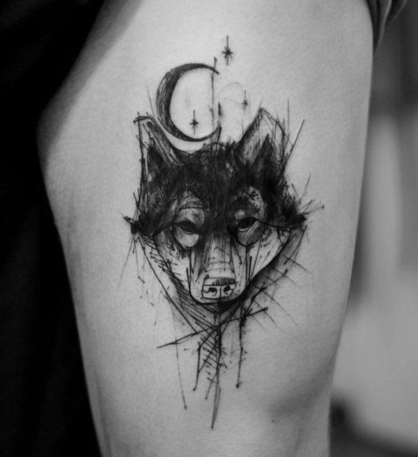 Tatuajes De Lunas Con Significado Y Diseños Hermosos Y Originales