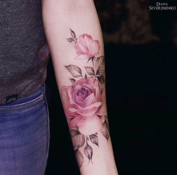 Tatuajes De Acuarela Que No Podras Resistir Hacerte