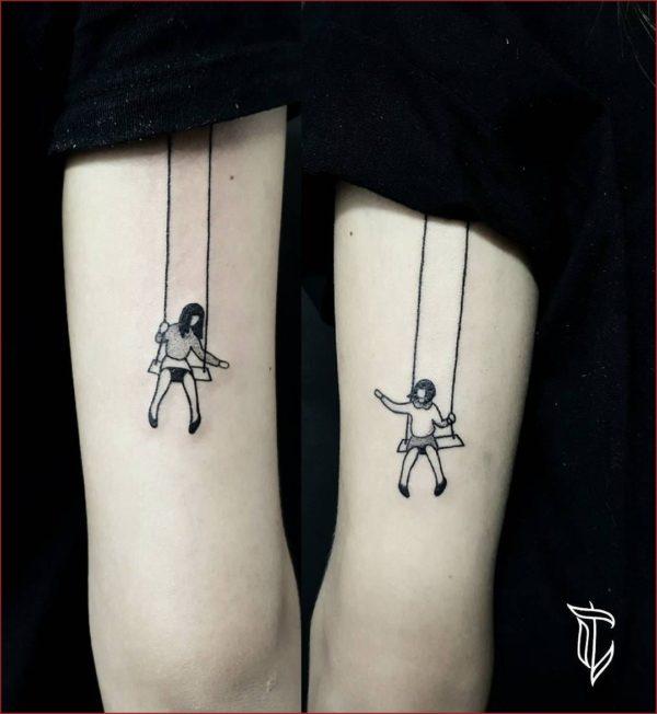 Tatuajes Para Hermanas 60 Ideas Originales Y Bonitas