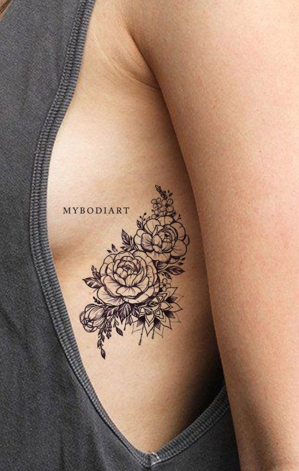 60 Ideas De Tatuajes En Las Costillas Para Mujeres Sexys