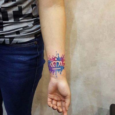 60 Tatuajes De Coronas Espectaculares