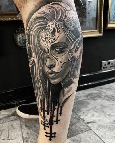 Tatuajes De Catrinas Fotos Diseños Y Significadomejores 2019