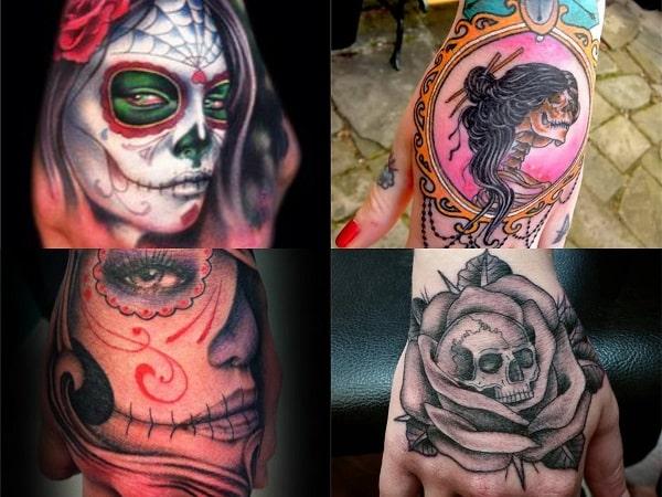 Tatuajes En La Mano Para Mujer 25 Diseños Atrevidos Para Mujeres