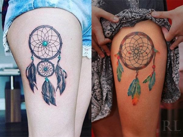 Tatuajes Para Mujeres De Atrapasueños 20 Diseños Que Te Protegerán