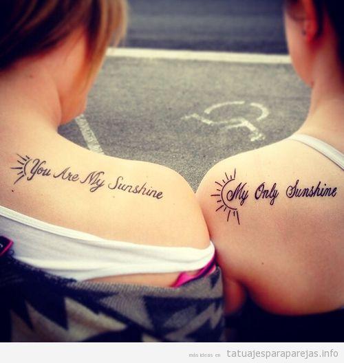 Frases De Amor Para Tatuajes En Pareja Tatuajes Para