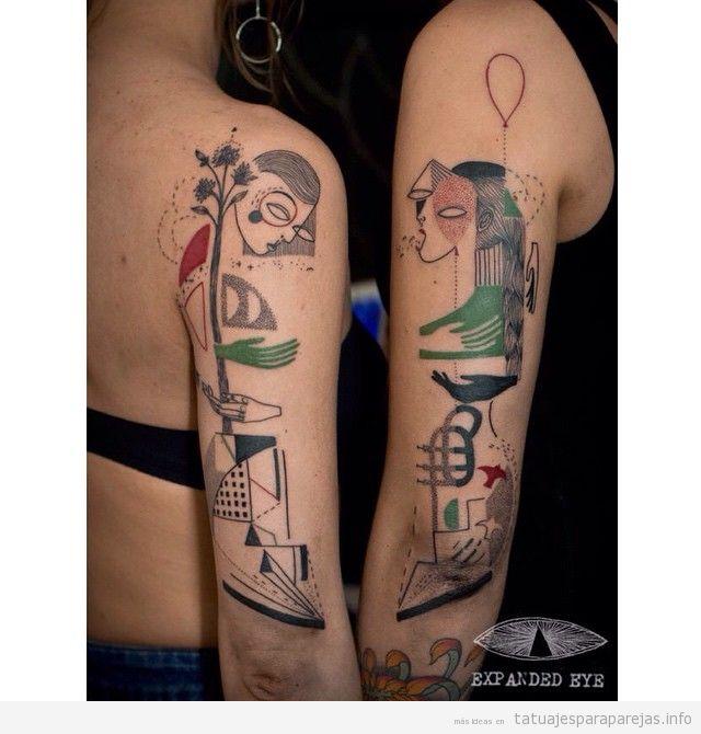 Tatuajes Originales Para Parejas 40 Diseños Que Son únicos