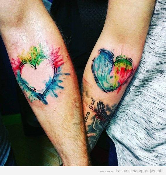 Tatuajes Para Parejas Enamoradas Diseños Románticos Que Proclamarán