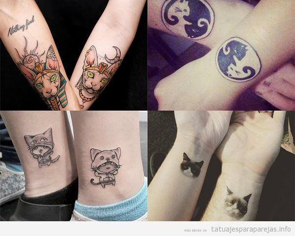 Tatuajes De Animales En Pareja El Poder Animal De Vuestro Amor