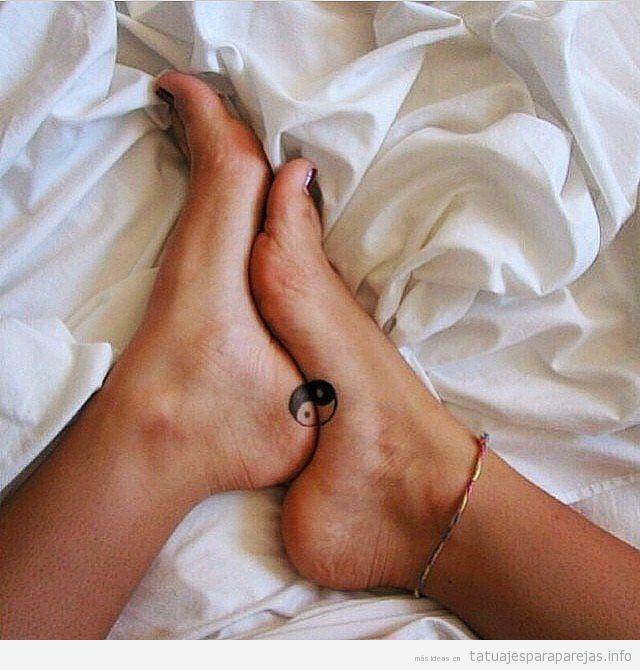 Tatuajes A Juego En Pareja Con El Yin Y Yang Tatuajes Para