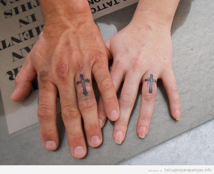 Tatuajes De Cruces Latinas En Pareja Tatuajes Para Parejastatuajes