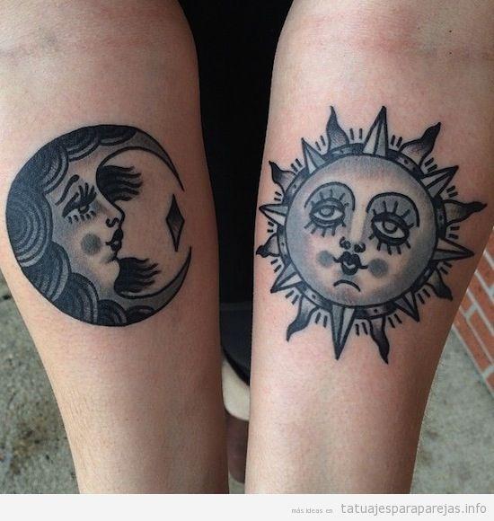 Tatuajes En Pareja Luna Y Sol Tatuajes En Pareja Luna Y Sol 8
