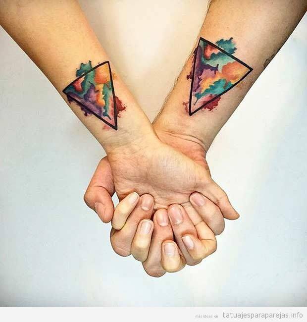 Geométricos Archivos Tatuajes Para Parejastatuajes Para Parejas