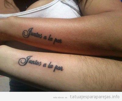 Frases Y Textos Bonitos De Amor Para Tatuarte Con Tu Pareja