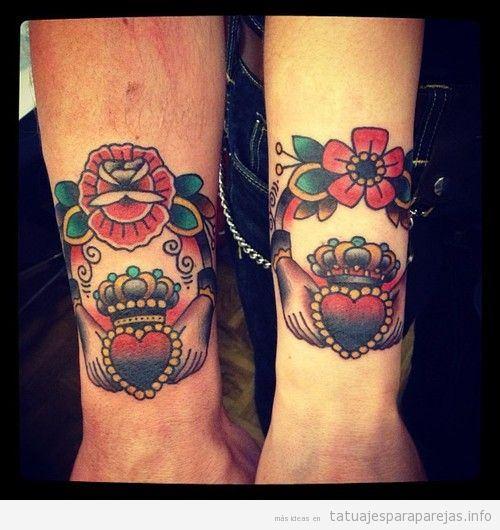 Tatuajes Para Parejas Old School 30 Diseños Con Todo El Sabor De Lo