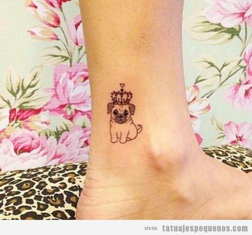30 Tatuajes Pequeños Y Bonitos En El Tobillo Seguro Que Querrás