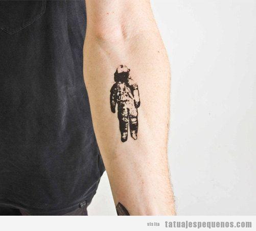 Tatuajes Pequeños De Astronautas Para Hombre Y Mujer Tatuajes Pequeños