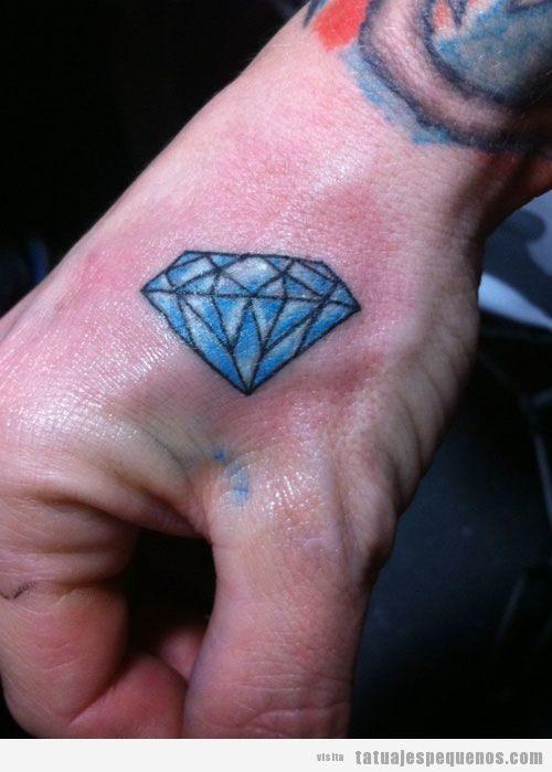 Tatuajes Pequeños De Diamantes Para Hombre Tatuajes Pequeños