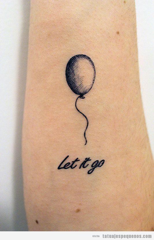 Tatuajes Pequeños De Globos Para Mujer Y Hombre Tatuajes Pequeños