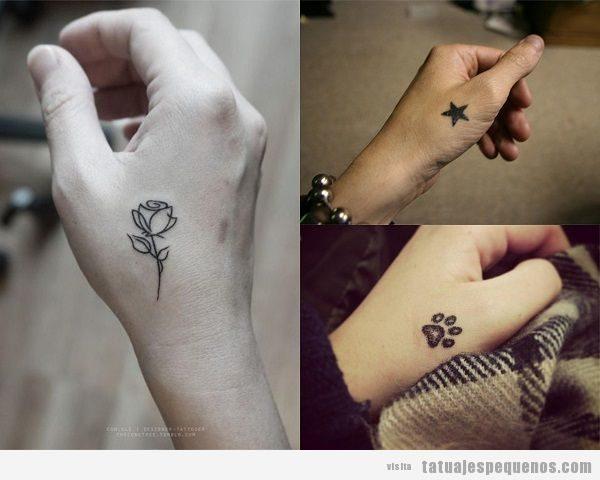 Tatuajes Pequeños En Las Manos 35 Diseños Para Mujer Y Hombre