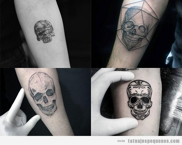 Tatuajes Pequeños De Calaveras Guatelinda