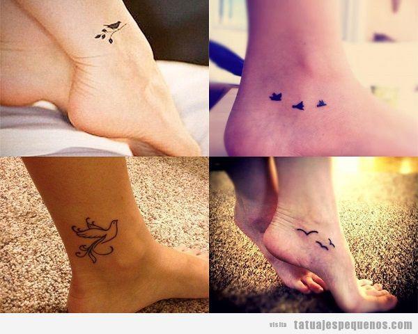 35 Tatuajes Pequeños De Pájaros Que Vuelan Sobre Tu Piel Tatuajes