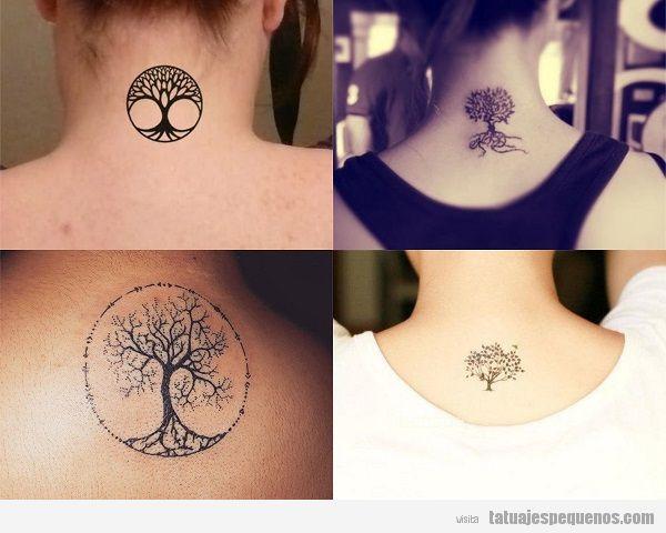 Tatuajes Pequeños Del árbol De La Vida Tatuajes Pequeños