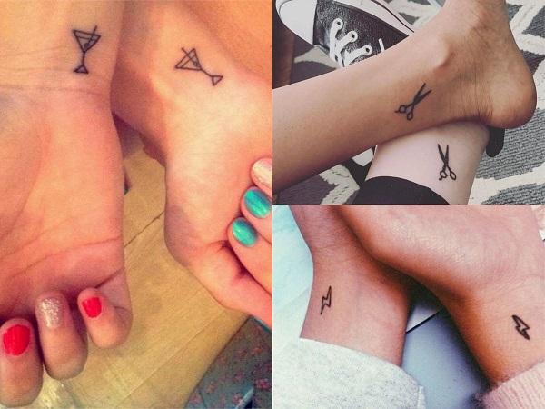 Tatuajes Pequeños Para Amigas 40 Diseños Símbolo De La Amistad