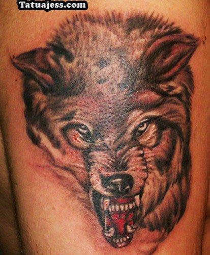 Tatuajes De Lobos Ideas Y Fotografías