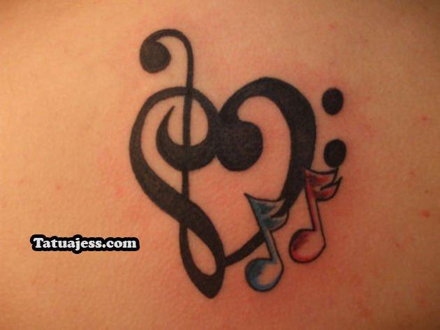 Tatuajes De Notas Musicales Ideas Y Fotografías