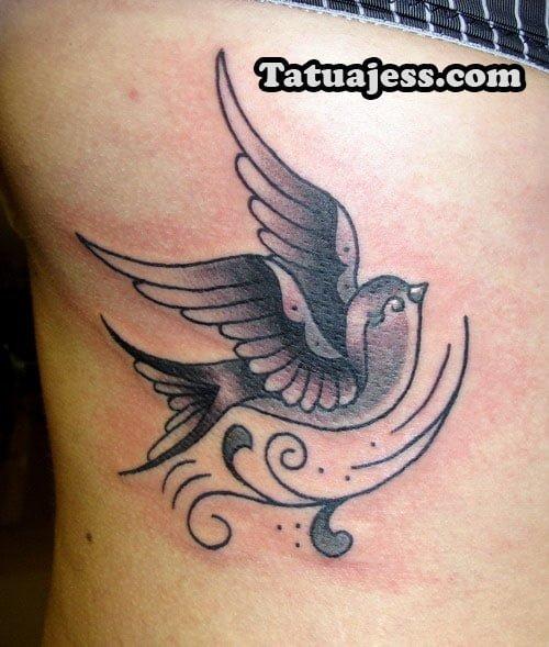 Tatuajes De Golondrinas Ideas Y Fotografías